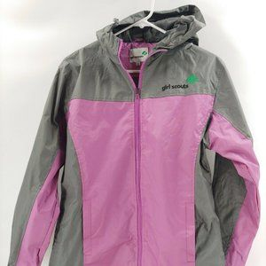 Girl Scouts windbreaker jacket XS